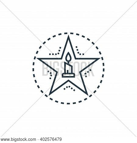 black magic icon isolated on white background. black magic icon thin line outline linear black magic