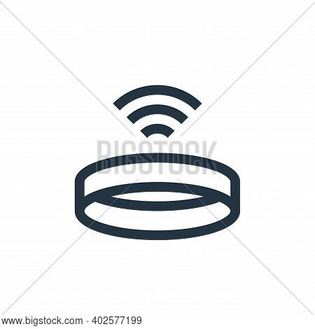 wireless icon isolated on white background. wireless icon thin line outline linear wireless symbol f