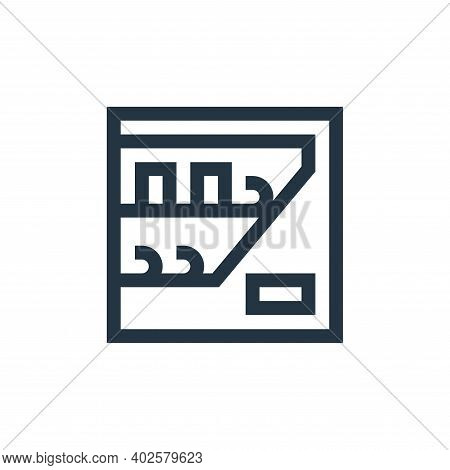 vending machine icon isolated on white background. vending machine icon thin line outline linear ven