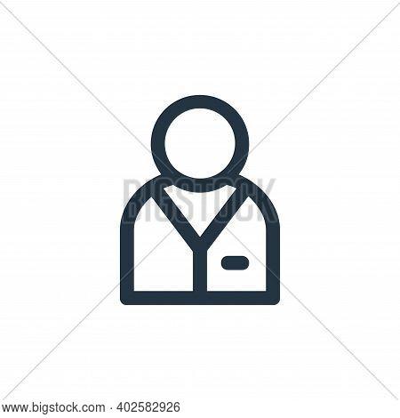 businessman icon isolated on white background. businessman icon thin line outline linear businessman