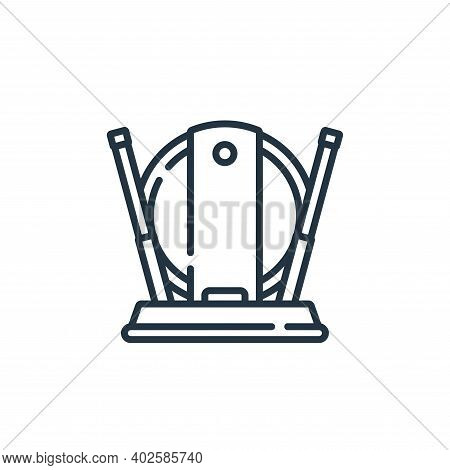 indoor antenna icon isolated on white background. indoor antenna icon thin line outline linear indoo