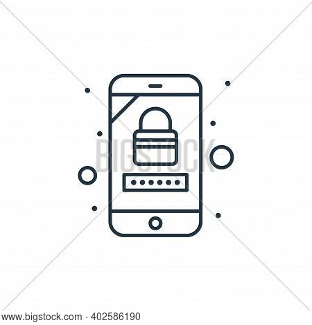 private account icon isolated on white background. private account icon thin line outline linear pri