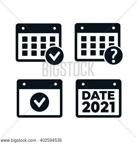 Event Icon. Annual Plan Vector. Plan Vector. Date Icons