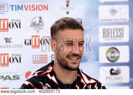Giffoni Valle Piana, Sa, Italy - July 23, 2019 : Fred De Palma At Giffoni Film Festival 2019 - On Ju