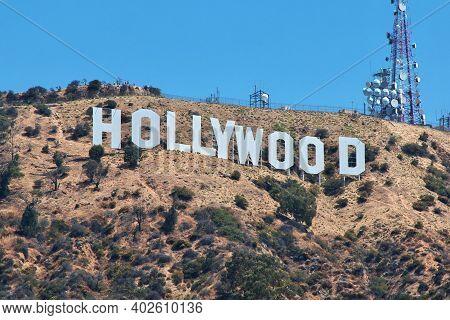 Los Angeles, Usa - 15 Jul 2017: Hollywood, Los Angeles, California, Usa