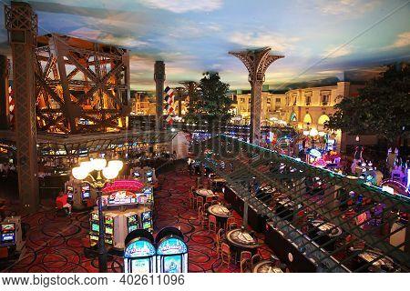 Las Vegas, United States - 05 Jul 2017: The Casino In Las Vegas, United States