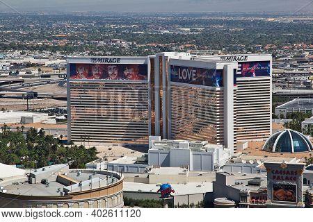 Las Vegas, United States - 05 Jul 2017: The Hotel Casino In Las Vegas, United States