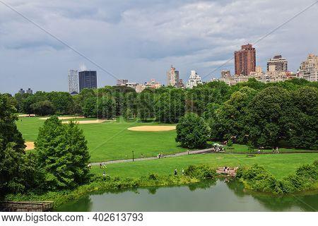 New York, United States - 01 Jul 2017: New York Central Park, United States