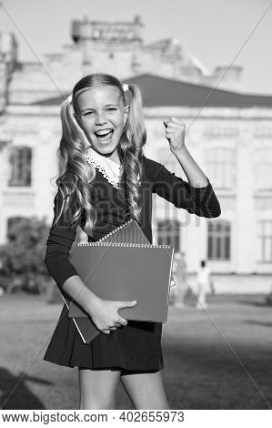 Education Is Power. Happy Kid Back To School. Non-formal Education. Private Teaching. Education And