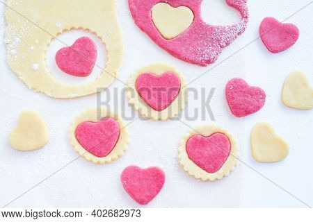 Valentine's Day Cookies. Cooking Instructions Step By Step 3. Homemade Heart Shaped Cookies. Delicio
