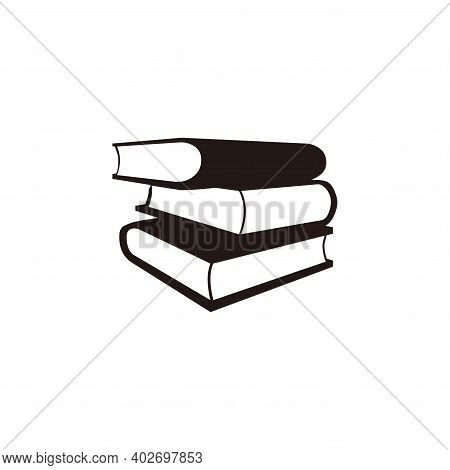 Book Icon Vector. Book Icon Vector Isolated On White Background. Book Icon Simple And Modern.