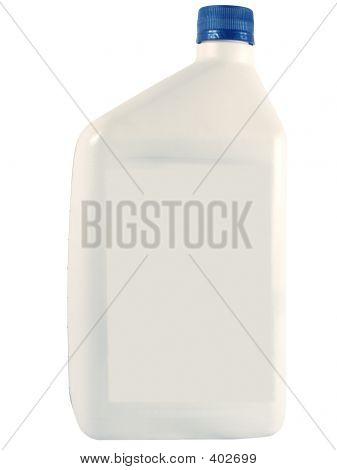 White Oil Bottle