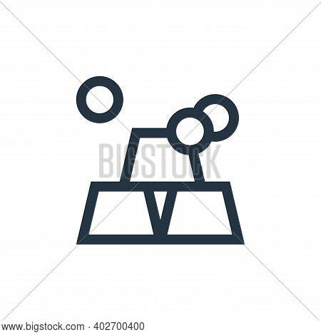 ingots icon isolated on white background. ingots icon thin line outline linear ingots symbol for log