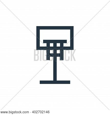 basketball ball icon isolated on white background. basketball ball icon thin line outline linear bas