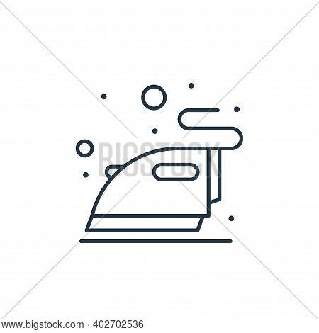 ironing icon isolated on white background. ironing icon thin line outline linear ironing symbol for