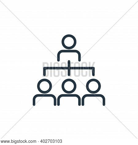 people icon isolated on white background. people icon thin line outline linear people symbol for log