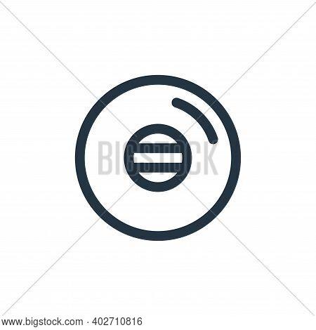 vinyl icon isolated on white background. vinyl icon thin line outline linear vinyl symbol for logo,