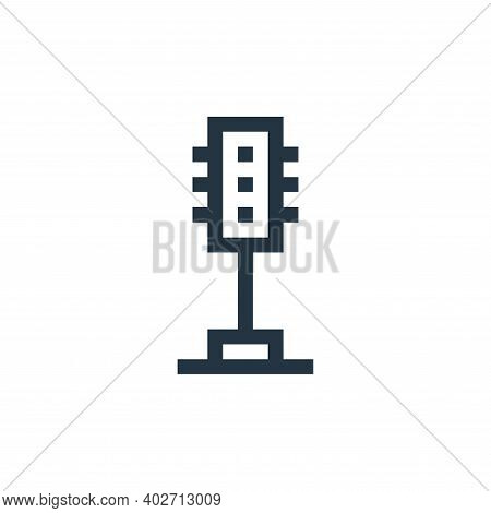 traffic lights icon isolated on white background. traffic lights icon thin line outline linear traff