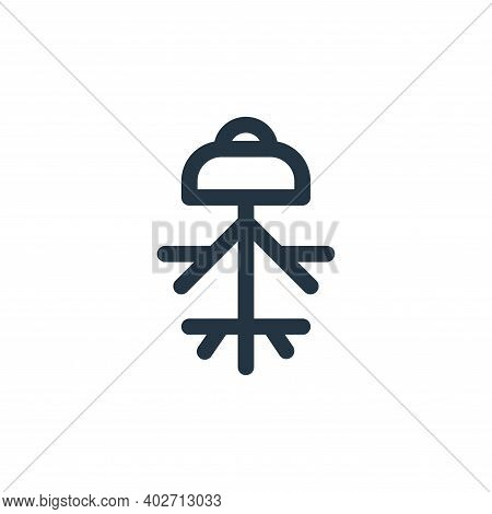 pollen icon isolated on white background. pollen icon thin line outline linear pollen symbol for log