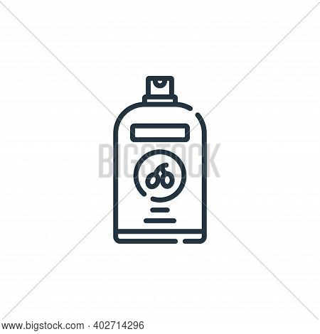 shampoo icon isolated on white background. shampoo icon thin line outline linear shampoo symbol for
