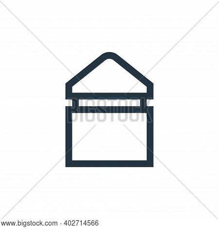 tee icon isolated on white background. tee icon thin line outline linear tee symbol for logo, web, a