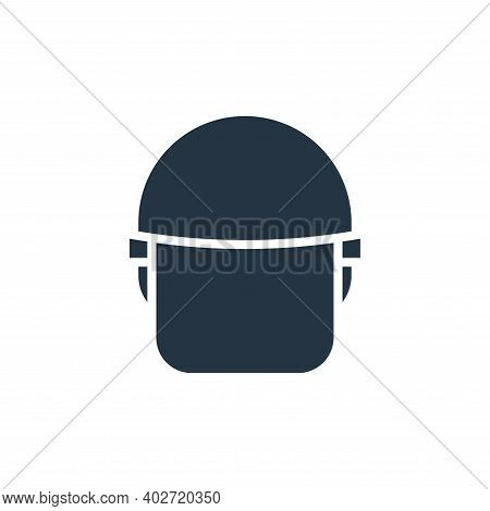 police helmet icon isolated on white background. police helmet icon thin line outline linear police