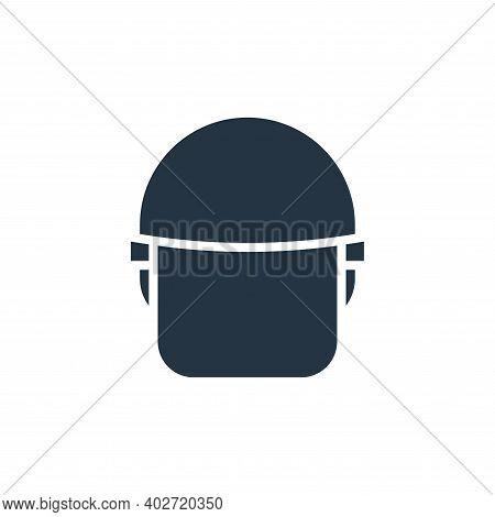 police helmet icon isolated on white background. police helmet icon thin line outline linear police