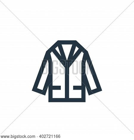 suit icon isolated on white background. suit icon thin line outline linear suit symbol for logo, web