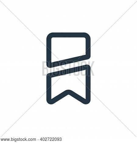 brand icon isolated on white background. brand icon thin line outline linear brand symbol for logo,