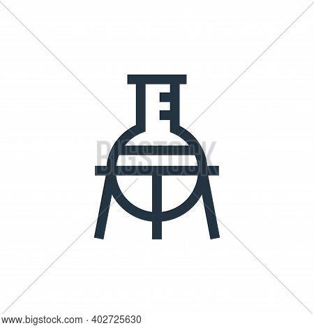 laboratory icon isolated on white background. laboratory icon thin line outline linear laboratory sy