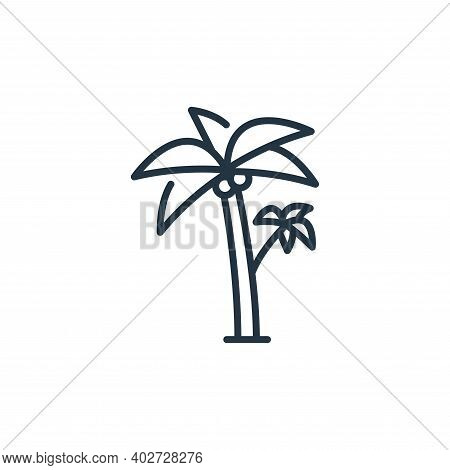 palm icon isolated on white background. palm icon thin line outline linear palm symbol for logo, web