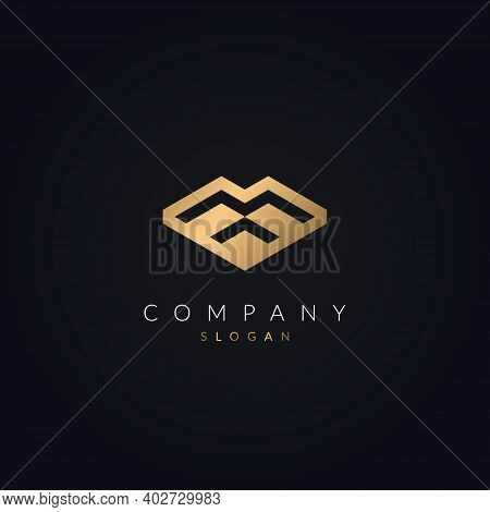 Minimalist And Creative Real Estate M Letter Modern Logo Icon Design. House, Property Development, C