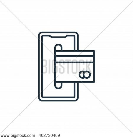 smartphone icon isolated on white background. smartphone icon thin line outline linear smartphone sy