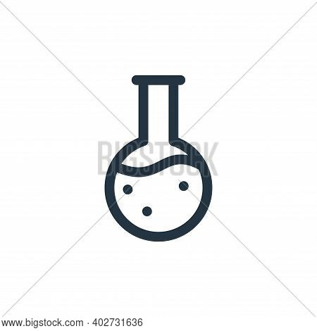 magic potion icon isolated on white background. magic potion icon thin line outline linear magic pot