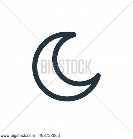 islam icon isolated on white background. islam icon thin line outline linear islam symbol for logo,