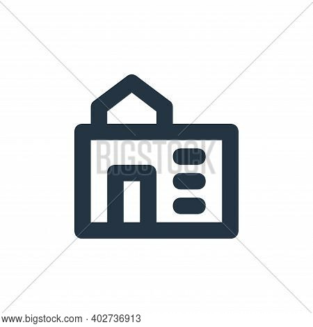 school icon isolated on white background. school icon thin line outline linear school symbol for log
