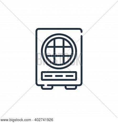 loud speaker icon isolated on white background. loud speaker icon thin line outline linear loud spea