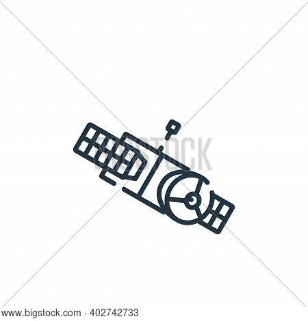 satellite icon isolated on white background. satellite icon thin line outline linear satellite symbo
