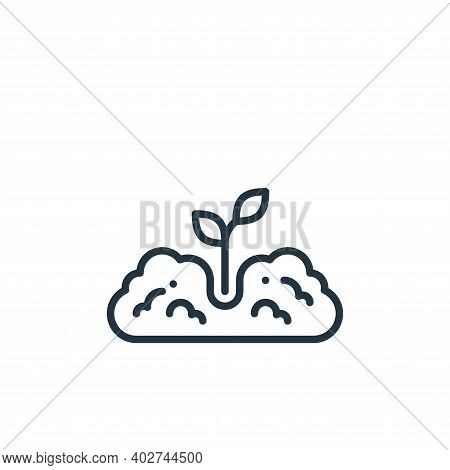plant tree icon isolated on white background. plant tree icon thin line outline linear plant tree sy