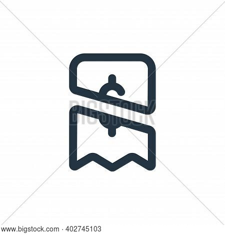 payment icon isolated on white background. payment icon thin line outline linear payment symbol for