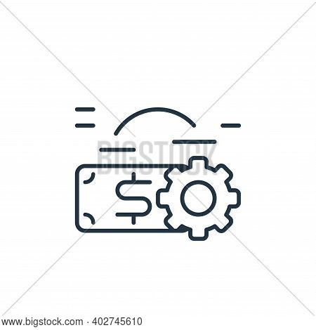 making icon isolated on white background. making icon thin line outline linear making symbol for log