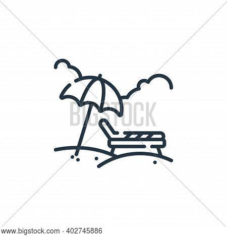 sunbathing icon isolated on white background. sunbathing icon thin line outline linear sunbathing sy