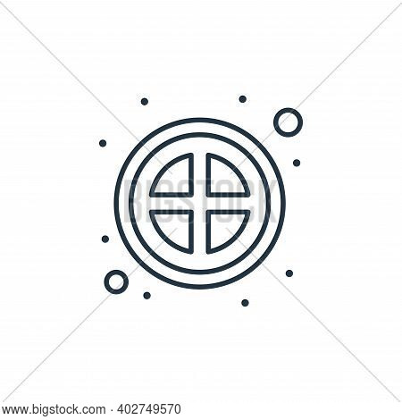 banned icon isolated on white background. banned icon thin line outline linear banned symbol for log