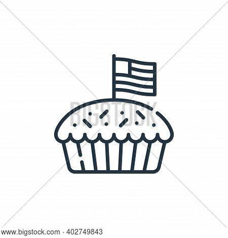 apple pie icon isolated on white background. apple pie icon thin line outline linear apple pie symbo
