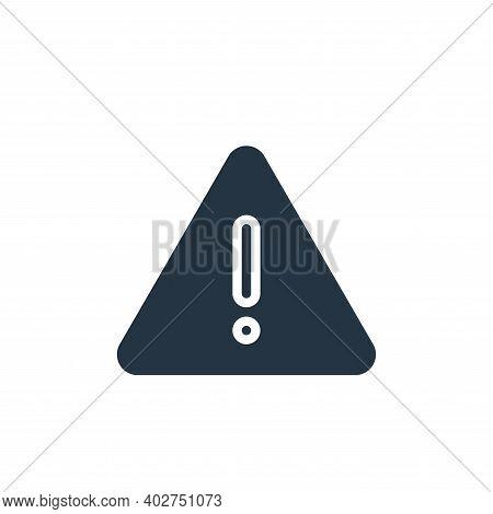 warning sign icon isolated on white background. warning sign icon thin line outline linear warning s