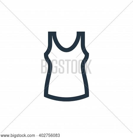 singlet icon isolated on white background. singlet icon thin line outline linear singlet symbol for