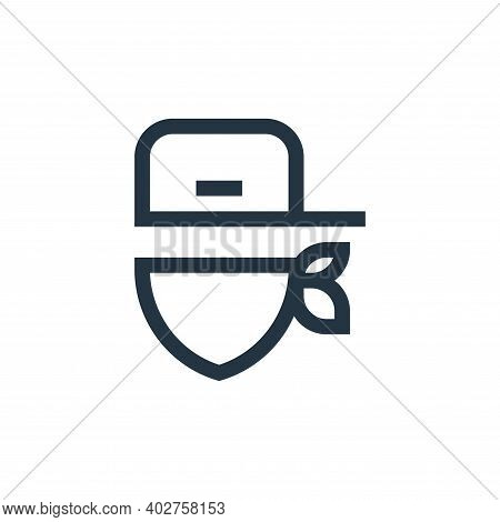 rap icon isolated on white background. rap icon thin line outline linear rap symbol for logo, web, a