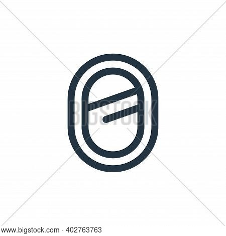 mirror icon isolated on white background. mirror icon thin line outline linear mirror symbol for log