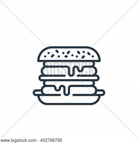 hamburger icon isolated on white background. hamburger icon thin line outline linear hamburger symbo