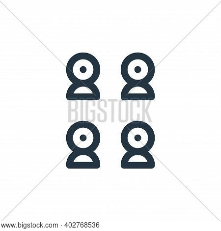 sensors icon isolated on white background. sensors icon thin line outline linear sensors symbol for